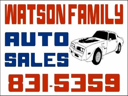 Watson Family Auto Sales